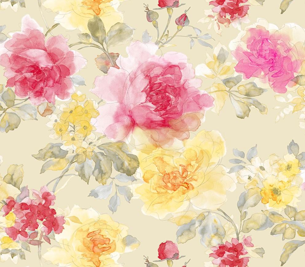 کاغذ دیواری Flower World